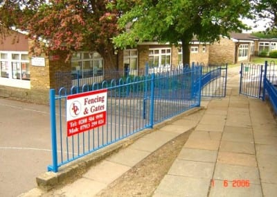Bow Top Fencing – Nightingale School