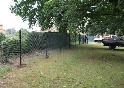 Chain Link Fencing – St Johns School Chelmsford Essex