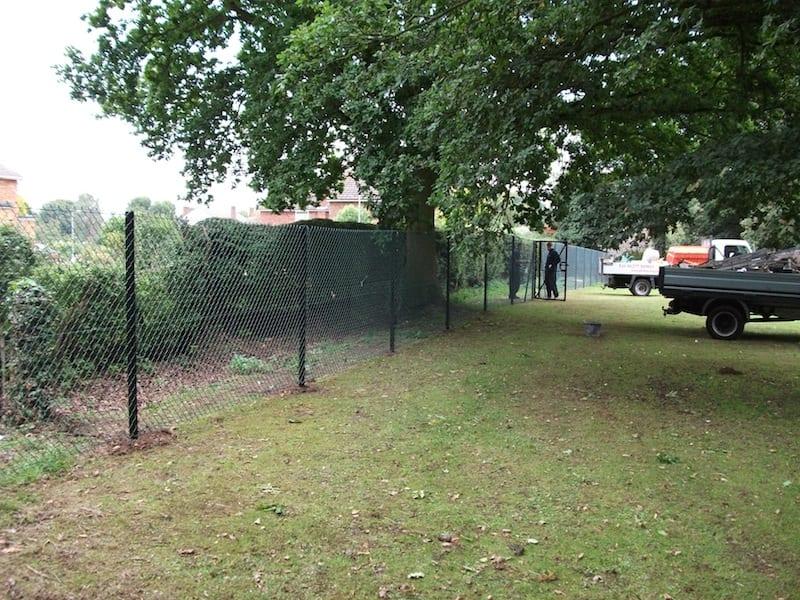 Chain Link Fencing – St Johns School Chelmsford Essex