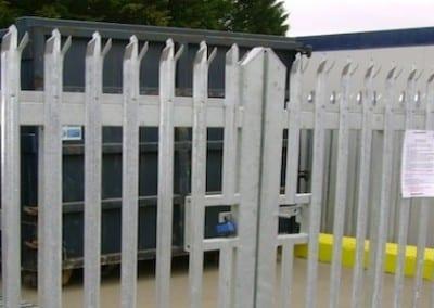steel-palisade-fencing-windsor-waste-managment-london
