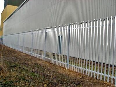 Steel Palisade Fencing in Romford