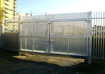 Steel Palisade Fencing – Access Solutions Scaffolding