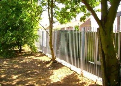 Steel Railings – Herringham School Grays Essex