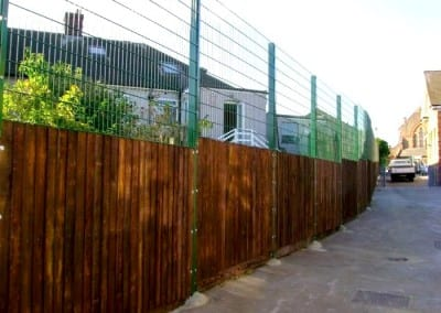 Wire Mesh Fencing – Timbercroft School