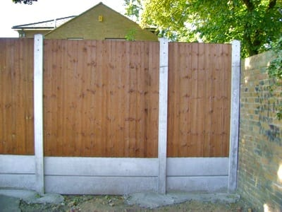 Timber Fencing in Romford