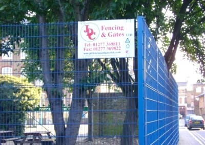 Wire Mesh Fencing London – Burbage School London