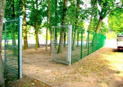 Welded Mesh Fencing London – Leytonstone School London