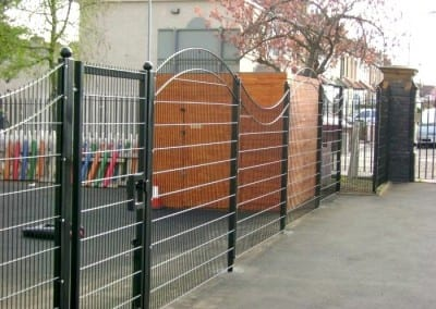 Wire Mesh Fencing – Uphall Primary School – Ilford