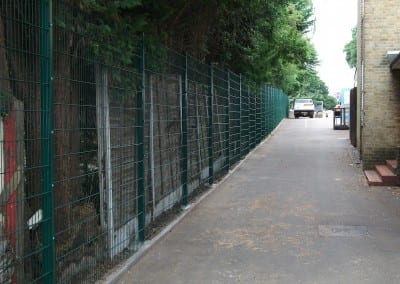 Wire Mesh Fencing – Lambourne School – Abridge Essex