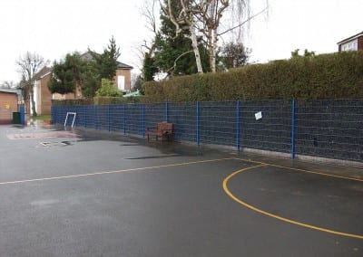Wire Mesh Fencing – St Martins School – Watford London