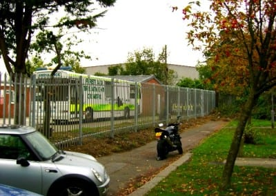 Steel Palisade Fencing London – St John Ambulance Kingston Upon Thames London