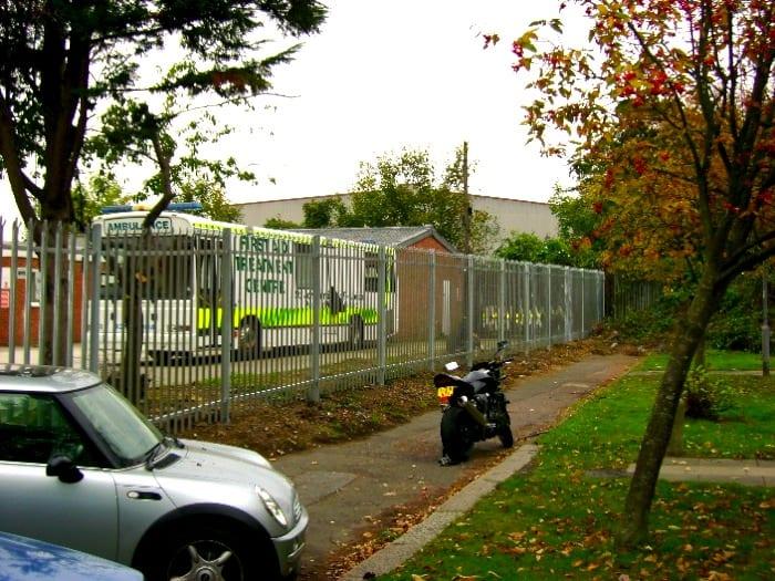 Steel Palisade Fencing London – St John Ambulance Kingston Upon Thames London