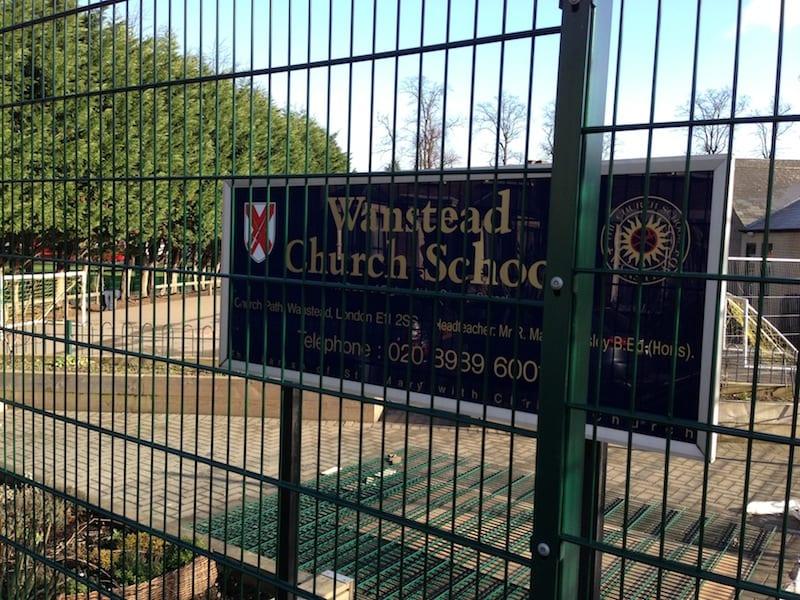 Twin Wire Mesh Fencing – Wanstead Church School