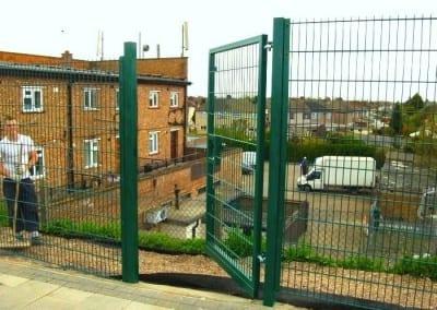 Wire Mesh Fencing Essex – Elm Park Regeneration – Elm Park Station Essex