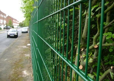 Wire Mesh Fencing – Harlow College Essex