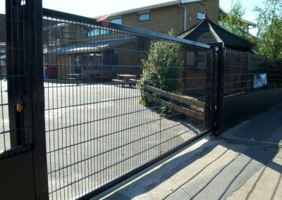 Wire Mesh Fencing London – St Patricks School Walthamstow London