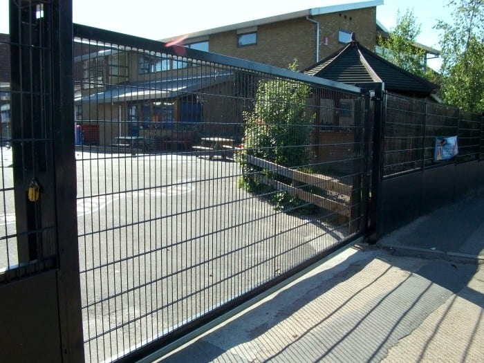 Wire Mesh Fencing London – St Patricks School Walthamstow London