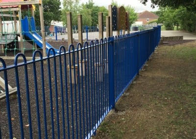 Bow Top Fencing – Newlands Spring School – Chelmsford Essex