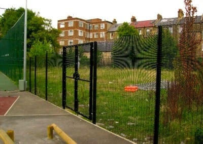 Wire Mesh Fencing – Paddington Academy – St Johns Wood London