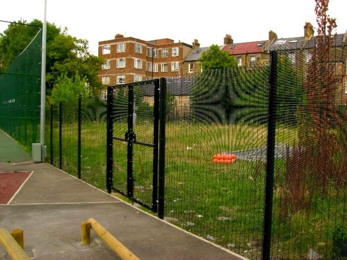Wire Mesh Fencing – Paddington Academy – St Johns Wood London