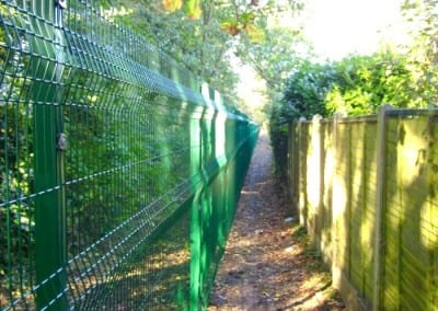 Wire Mesh Fencing – St Martins School – Brentwood Essex
