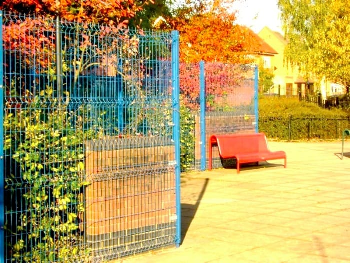 Wire Mesh Fencing – Whitehall Primary School – Waltham Forest London