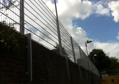 Wire Mesh Fencing – Thomas Jones School – Ladbrook Grove London